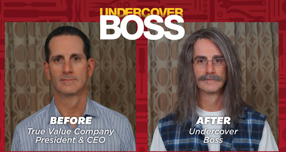 """President and CEO John Hartmann participated in the popular """"Undercover Boss"""" TV program"""