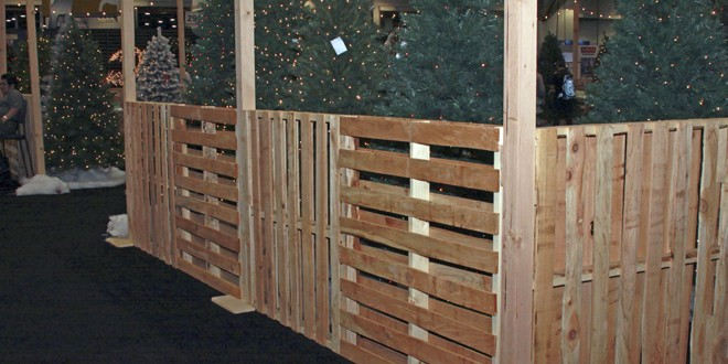 Fence In Products With Pallets Hardware Retailing