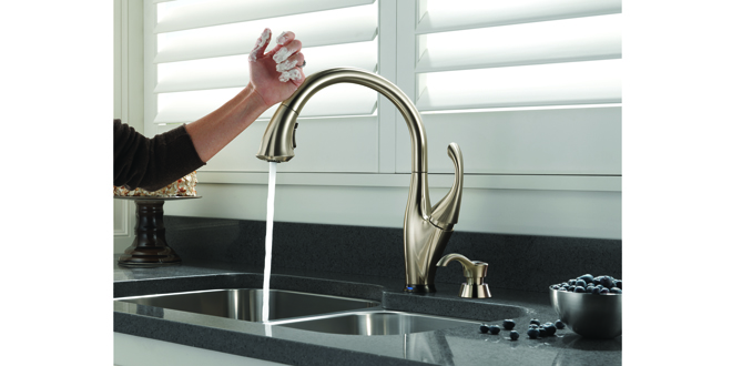 touchless faucet hardware retailing