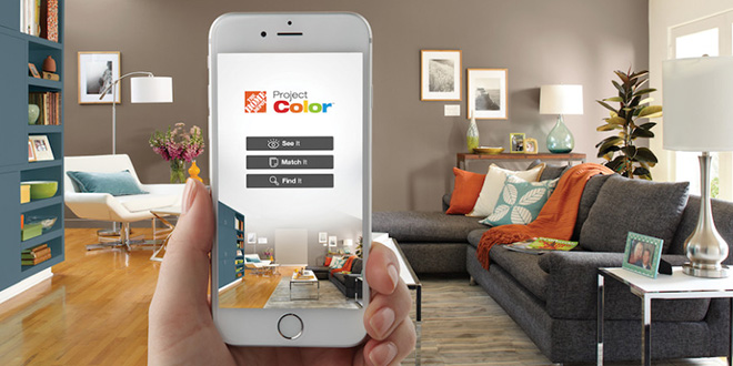 Home Depot Color App: Home Depot App Helps Customers Preview Paint