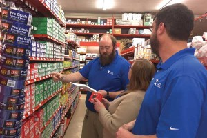 ben canady assistant manager donna dunnehoo inventory specialist and jason mitchener