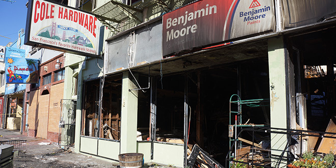 Community Supports Cole Hardware After Fire