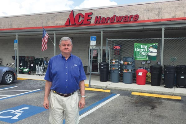 Harold Staats, owner of Kingsway Ace Hardware in Port Charlotte, Florida, operated two stores before selling his Cape Haze, Florida, location to an outside buyer.