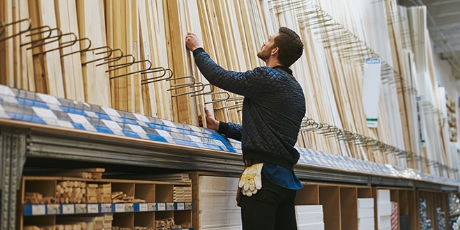 Building Materials Sales Impact On Lowe S Home Depot