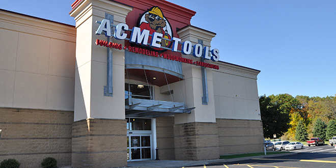 Acme Tools Store Tour