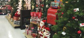 Kids Visit Store to Send Letters to Santa