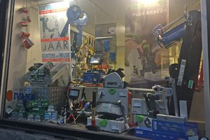 Amsterdam Store Front Window Left