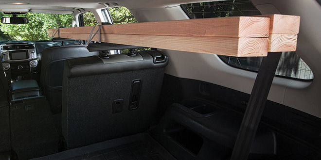 Interior Cargo Rack