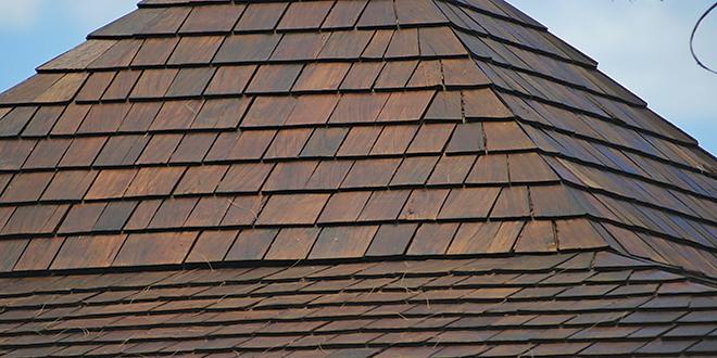Hardwood Roof Shingles
