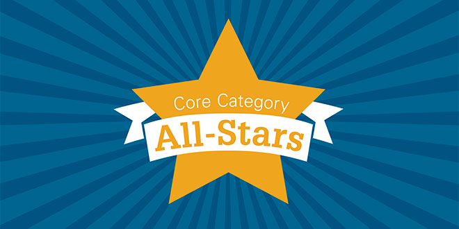 Core Category All-Stars