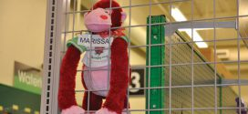 Stuffed Monkeys Encourage Customers to Explore Store