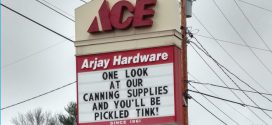Witty Signs Keep Customers Smiling