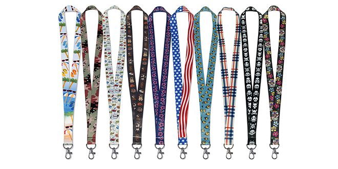 Custom-Designed Lanyards