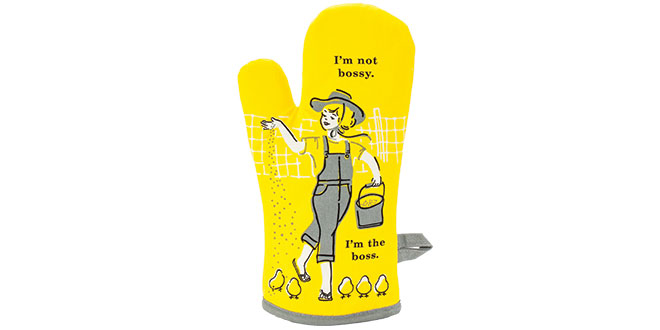 Funny Oven Mitts