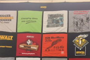 Store Creates Quilts from Vendor T-shirts