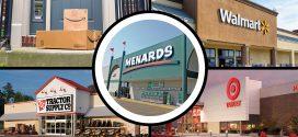 360-Degree Views: Amazon, Menards, Target, Tractor Supply and Walmart