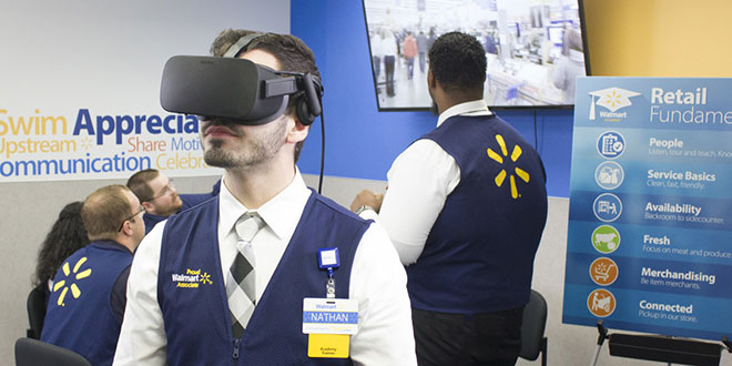 Walmart Uses Virtual Reality for Training