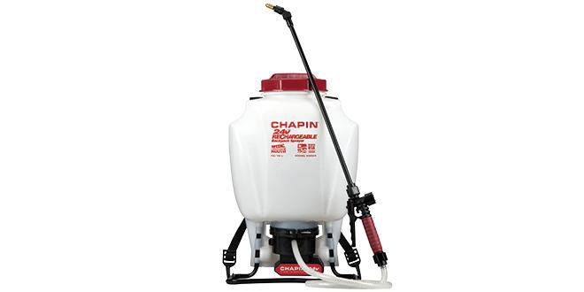 Battery-Powered Backpack Sprayer