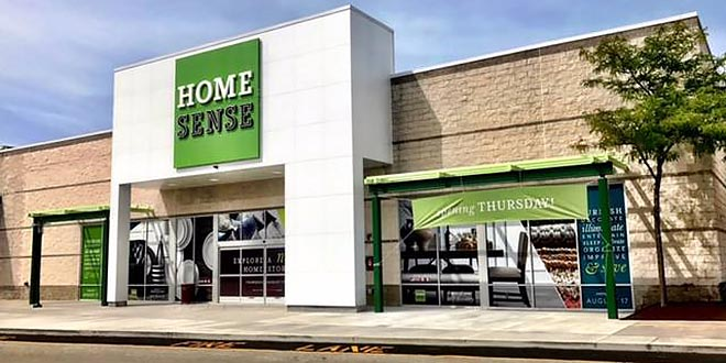 new homesense chain is reminiscent of a home depot or lowe s