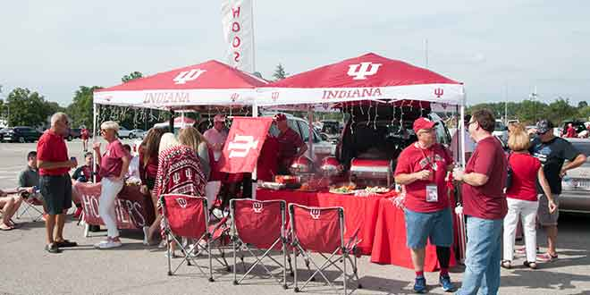 10 Things We Didn't Expect to See at IU's Tailgate