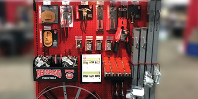 Fence Tools Retail Display Unit