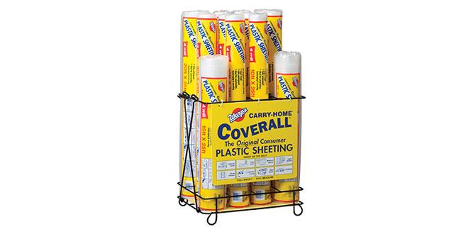 Plastic Sheeting Merchandiser
