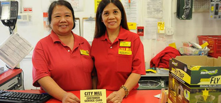 Employees Make the Grade at City Mill