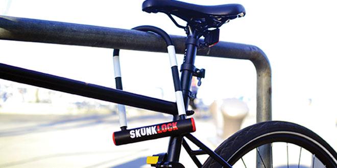 Smell Deterrent Bike Lock