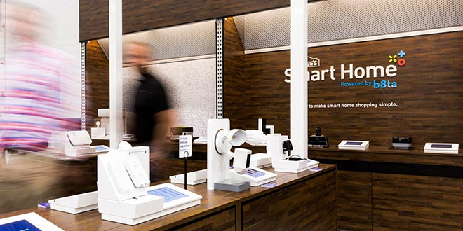 Lowe's Puts 'Lab-Like' Smart Home Centers in 70 Stores