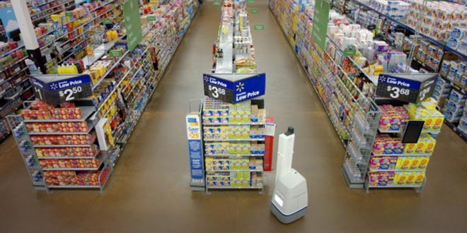 Walmart Adding Aisle-Scanning Robots to 50 Stores