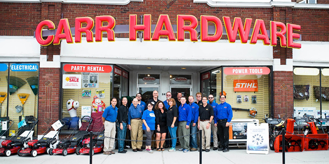 Carr Hardware Wins National Retail Contest