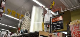 Hardware Props Entertain Customers at Kendall's Ace Hardware