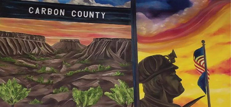 Retailer's Mural Reminds Customers of Area Industries