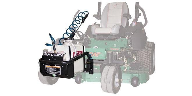 Spraying Mower Attachment