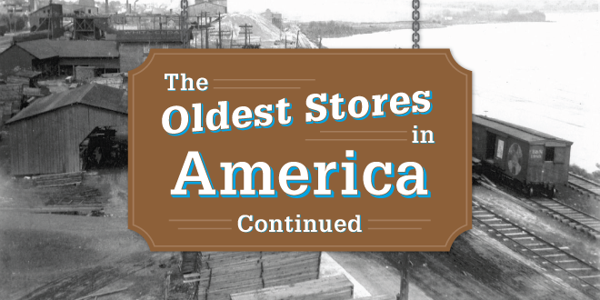 Check Out Some of the Oldest Stores in America
