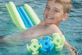 Linking Pool Toys
