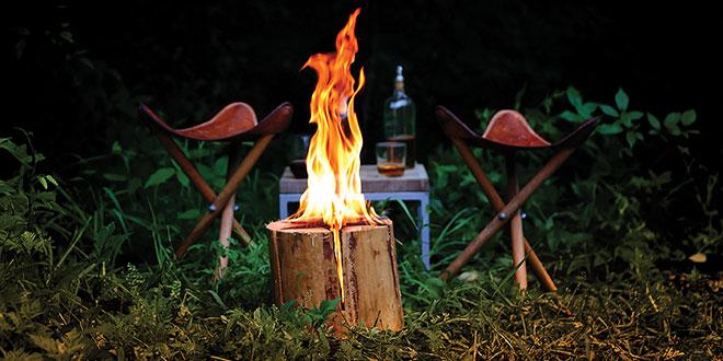 Fire-Starter Log
