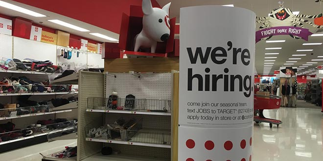 Big-Box Retailers Offer Competitive Incentives to Seasonal Hires