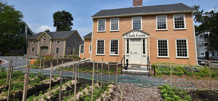 Norfolk Hardware Helps Restore Historic Boston Farm