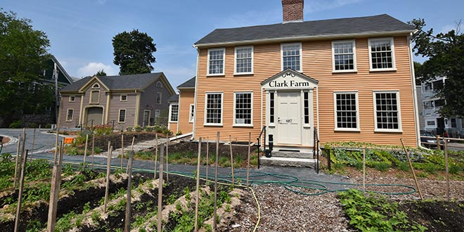 Norfolk Hardware Helps Restore Historic Boston Farm