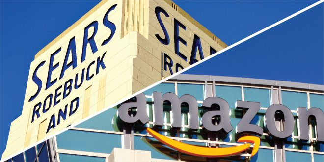 Sears and Amazon Share Similar Pasts, Divergent Futures