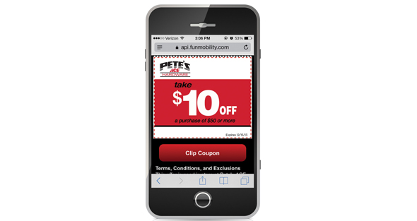 Mobile Coupons Garner Interest, Bring in Younger Customers
