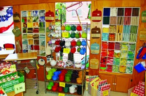 Frattallone's Ace Hardware showcases housewares items.