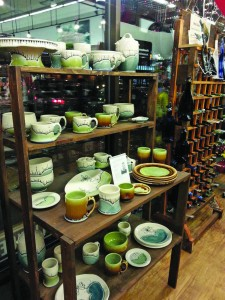Owenhouse Ace Hardware offers locally made pottery.