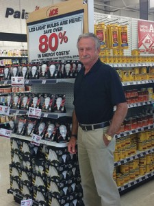 Bill Griffin of Griffin Ace Hardware promotes stores services, rather than pushing to be a price leader.