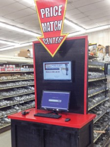 Fuller & Son of Little Rock has installed price-match centers in its stores to help customers price-shop.