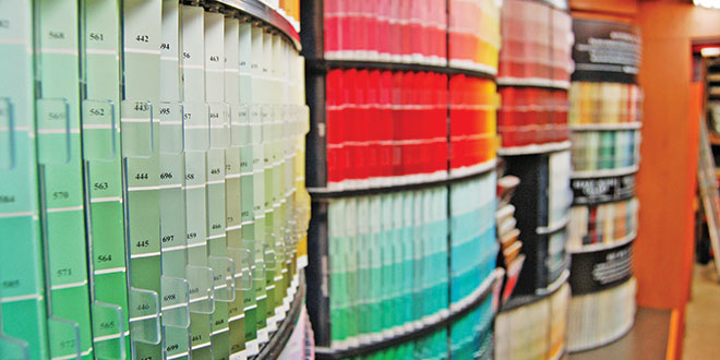 Paint Department