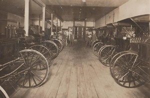 This photo from 1920 shows buggies, which the store sold for a while.
