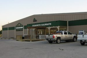 Foxworth-Galbraith began in 1901 when two families formed five lumberyards.