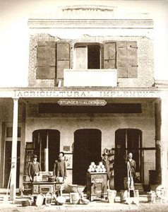 This is a photo of the outside of Placerville Hardware, before the official name change took place.